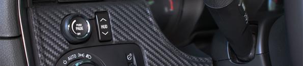Hirsch Interieur Kit für den Saab 9-5 in Carbon/Leder