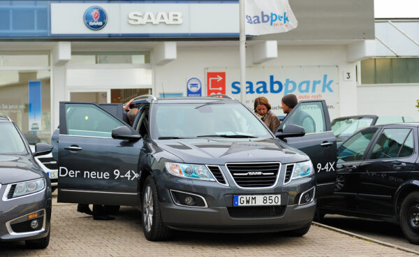 El nuevo Saab 9-4x en Saab Roth en Leinfelden