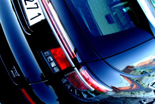 Andere Perspektive: Saab 9-5 Heck