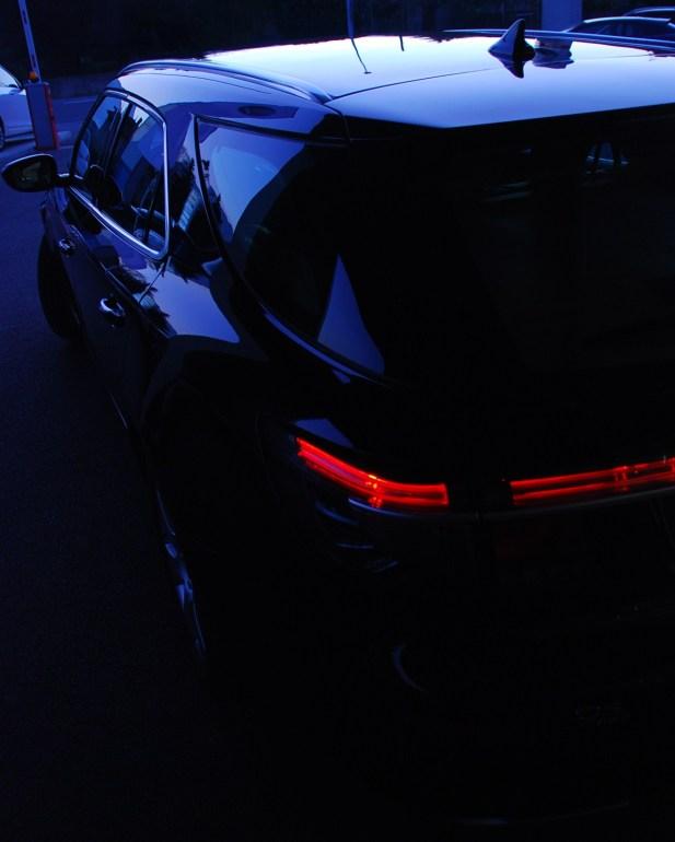 Saab 9-5 Sportkombi, LED Leuchten