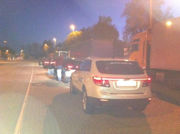 Bem vindo a Alemanha! O carro esportivo Saab 9-5 e o Saab 9-4x aterrissaram.