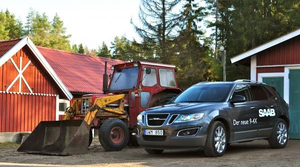 Saab 9-4x und IHC