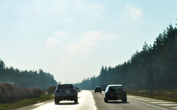 Saab 9-4x und Saab 9-5 Sportkombi unterwegs nach Malmö
