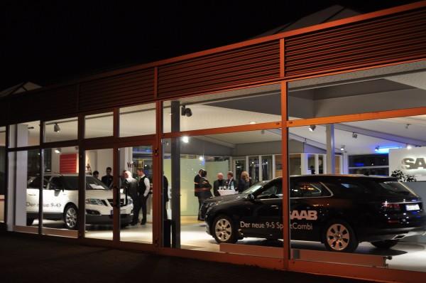 Saab-partner Volker Möhler: Saab 9-5 sportwagen en Saab 9-4x in Bremen