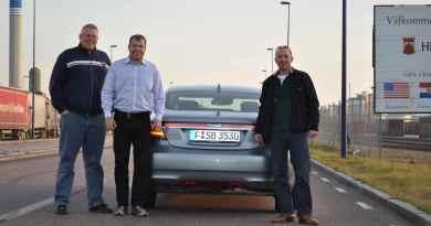 Saab Team: Henrik Claesson, Mike Helfer, Jan-Philipp Schuhmacher