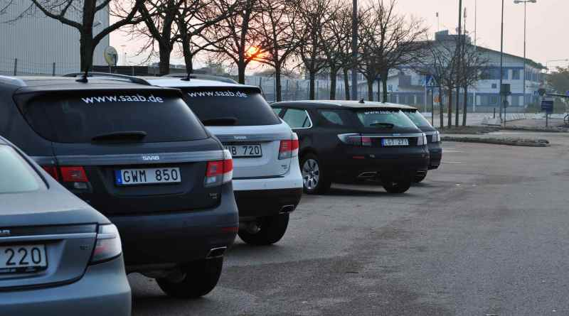 La fábrica de Saab en el Stallbacka, el auto deportivo Saab 9-5 y el Saab 9-4x están listos