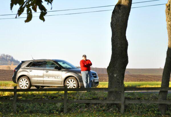 Tour Scout Henrik Claesson et le Saab 9-4x