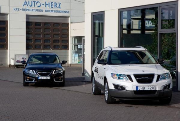 Saab Zentrum Trier, Auto Herz: el nuevo Saab 9-4x y el Saab 9-5 sports car