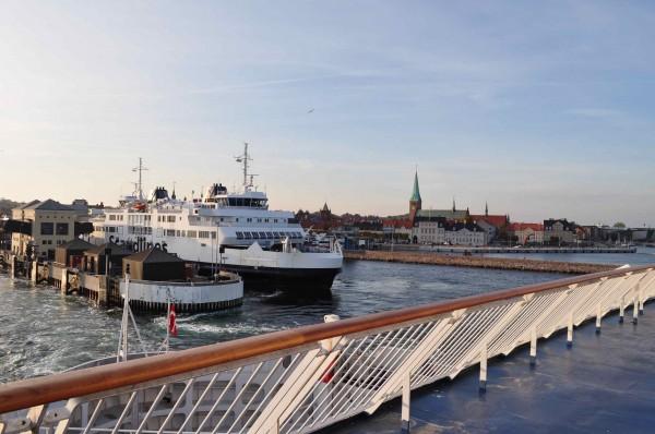 Bye Denmark - ferry para a Suécia