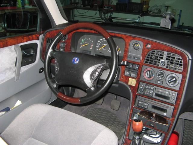 Saab 9000 CS, Innenraum