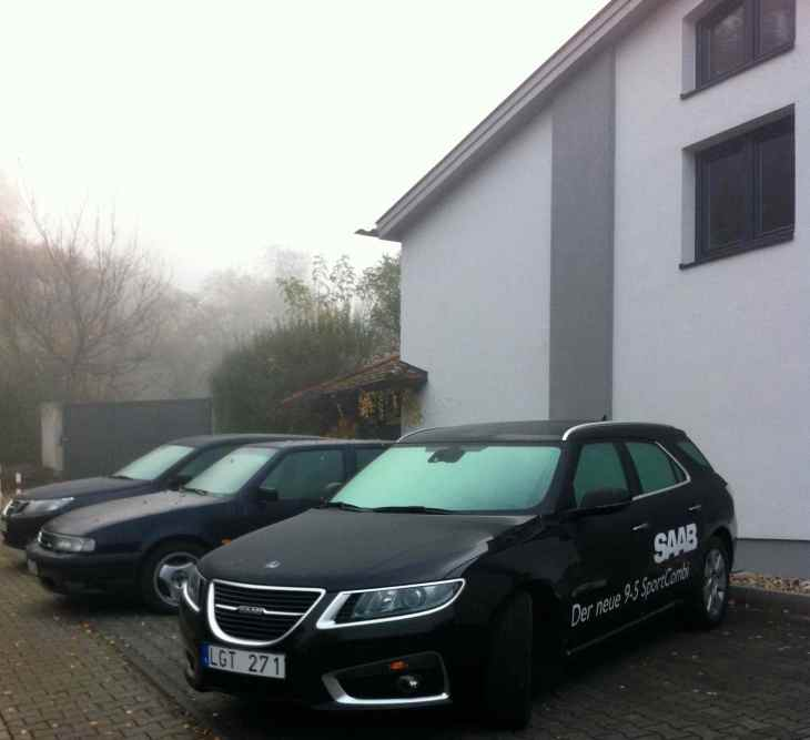 Saab 9-5 Sportkombi, Saab 9000, Saab 9-3, Bloggers Home