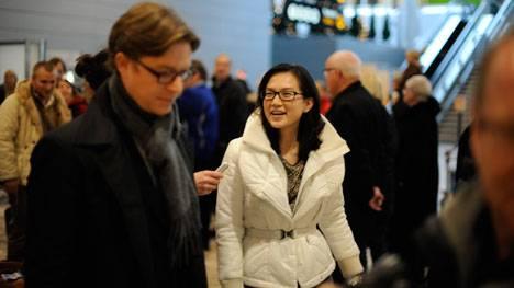 Rachel Pang in Schweden