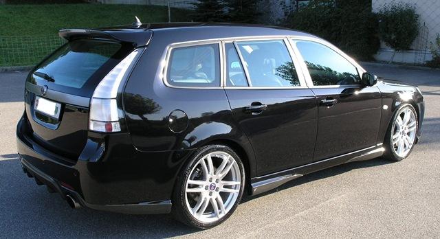 Saab 9-3 XWD V6 Hirsch von Rolf
