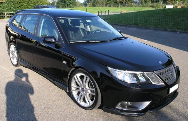 Saab 9-3 Sportkombi XWD V6 Hirsch