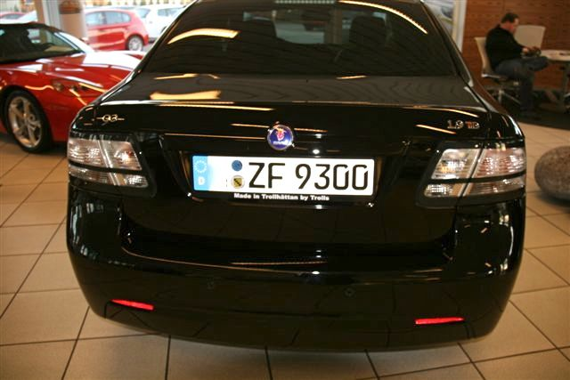 "Saab 9-3 TID Mark ""Made in Trollhättan by Trolls"""
