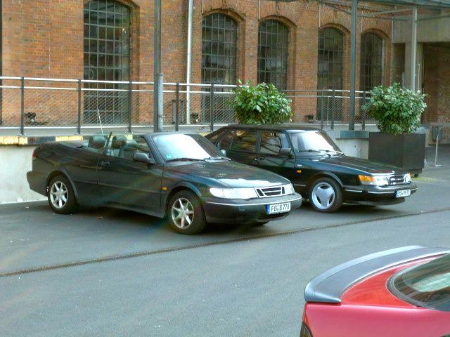 Saab 900 Serie I und II Klassikstadt Frankfurt