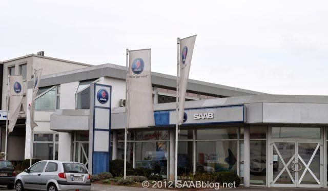 Saab Zentrum Frankfurt