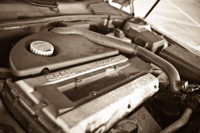 Saab-engine 2.3t met Trionic