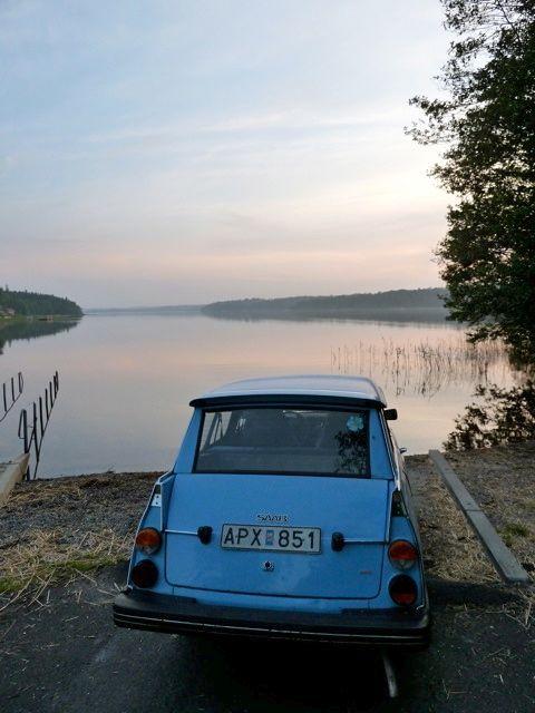 Evening mood with Saab 95