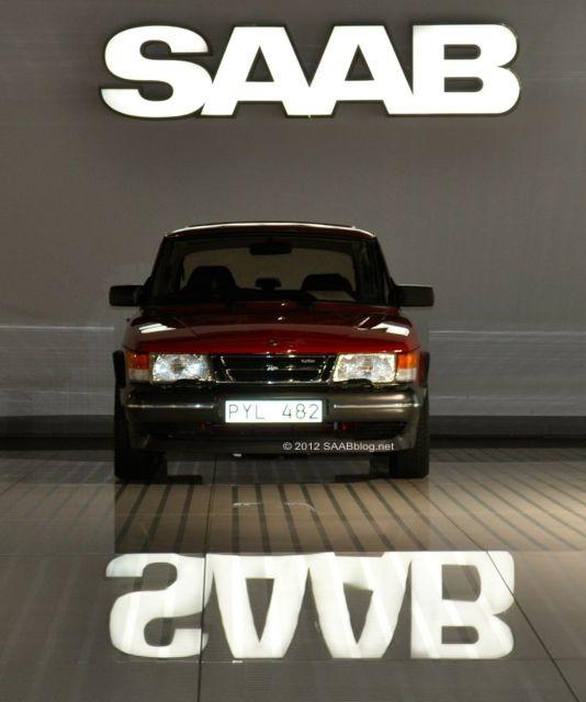 Saab Museum Trollhttan, Saab 900