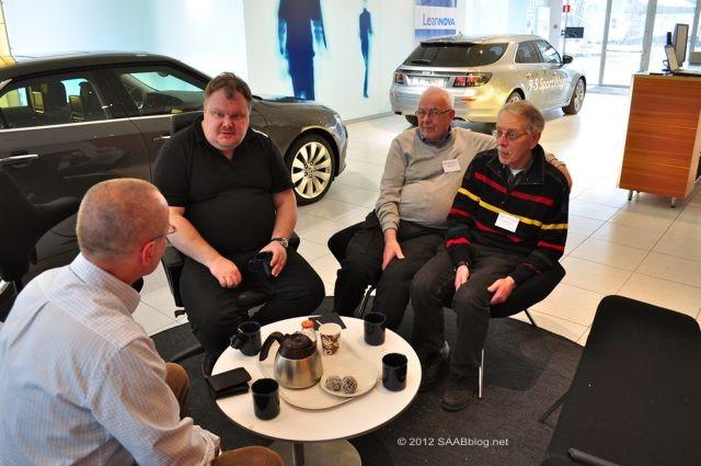Saab-museet: Saab Veterans, Peter Bäckström, Tom