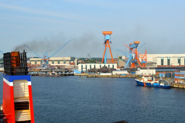 Saia com o Schwedenfaehre Kiel