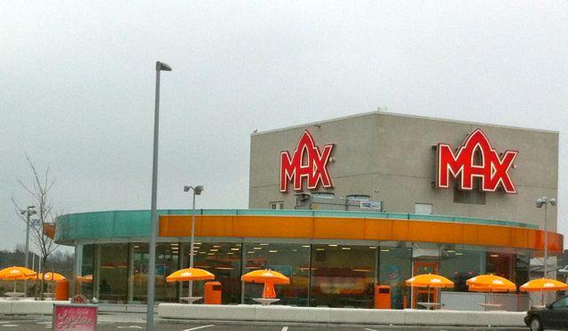 Wenn Fast Food dann....Max