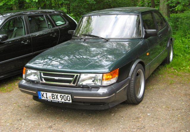 Saab 900 im Norden