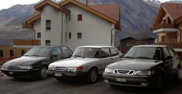 Saab samling till salu: Saab 900, Saab 9000, Saab 9-3