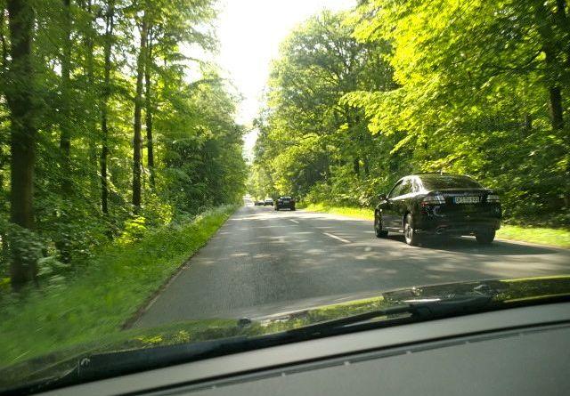 Im Taunus: Saabs on the Road