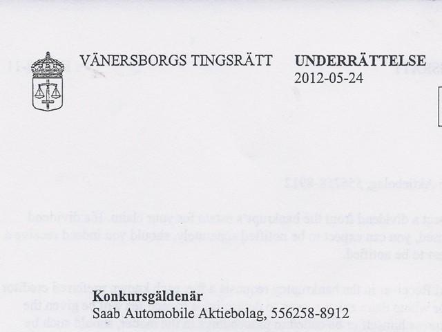Brev från Vaenersborg