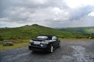 Jedes Wetter ist Saab Cabriolet Wetter. Foto von Theo
