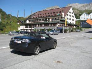 """Saab 9-3 Cabriolet """"Sommerarlbergtour 2"""", foto de Günter"""