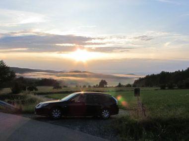 Saab 9-3 Sportkombi Impressionen Bayrischer Wald 4. Foto von Christian