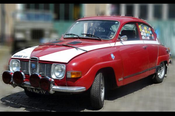 Carro Número 141, Saab 96 Rallye