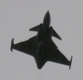 Saab Gripen. Foto de Ivo.