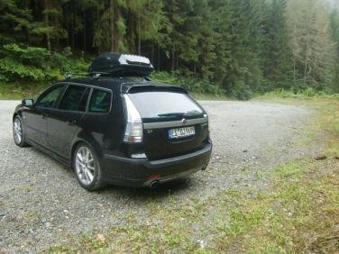 Saab 9-3 in der Steiermark. Foto von Peter.