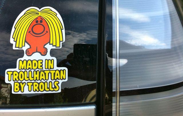 Saab Troll på turné
