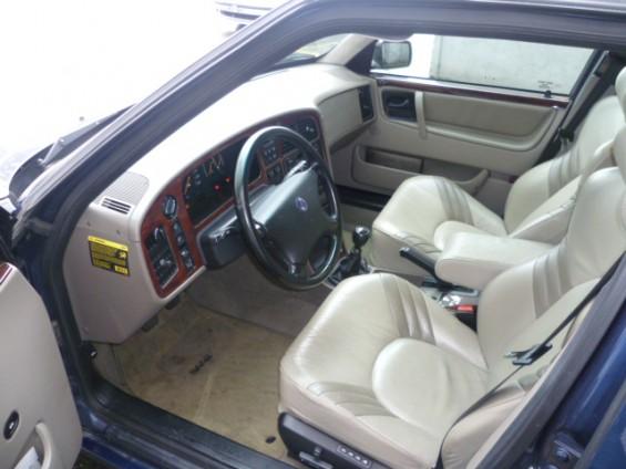 Saab 9000 Cockpit