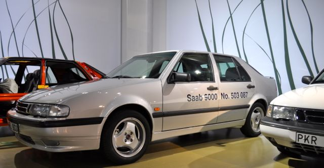 In the Saab Museum: the last 9000er after 503.087 copies.