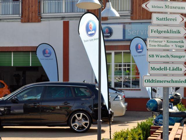 Gewinner: Saab Partner die ihre Chance genutzt haben.