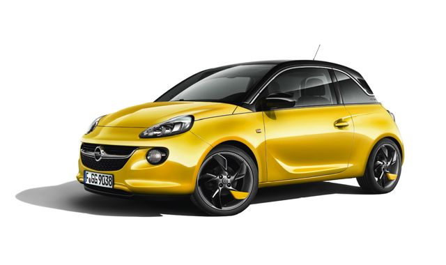 Opel Adam. Nachegegler do ano