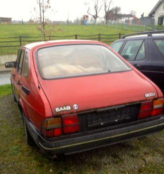 Saab 900i Heck