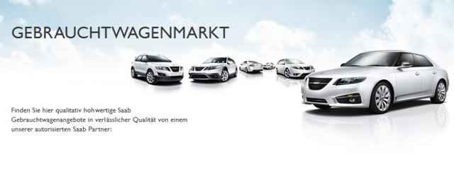 Saab använde biluthyrning på Saab.de