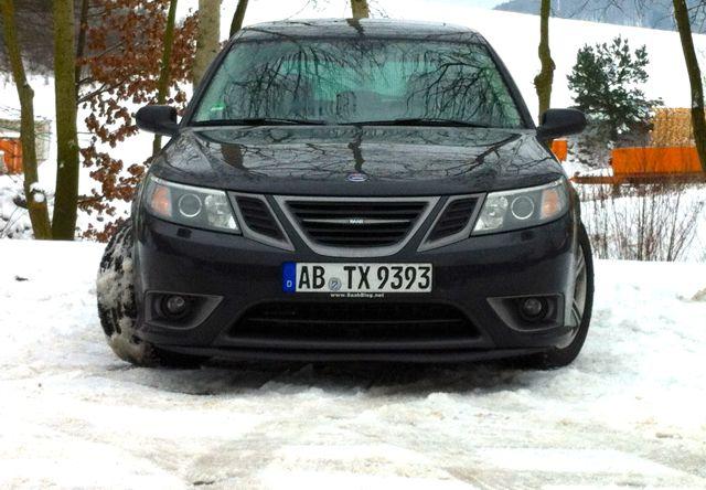 Saab Turbo X: Er liebt Schnee!