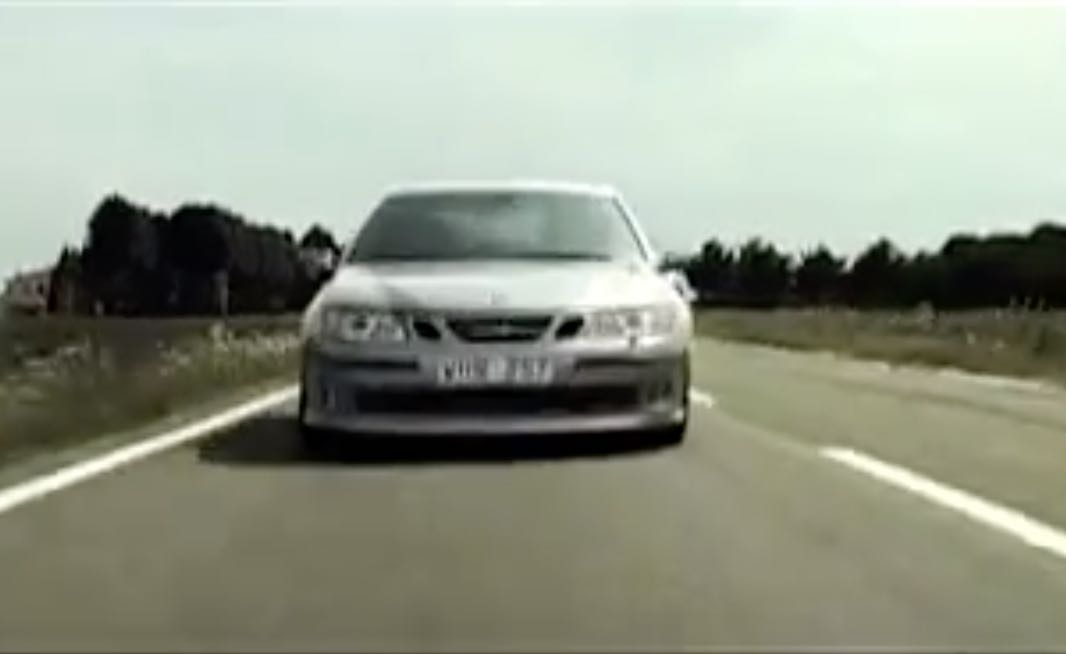 Saab 9-3 Sportkombi Born from Jets
