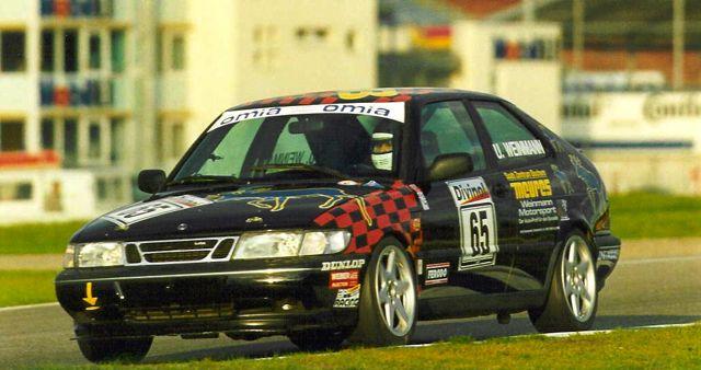 SAAB 900R no circuito em Hockenheim