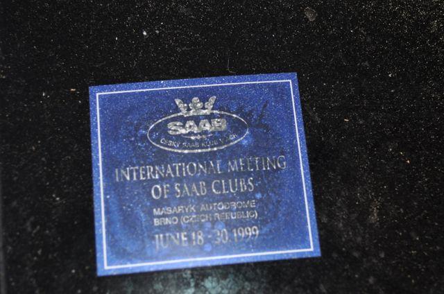 Vergangenheit: Saab Club Meeting 1999