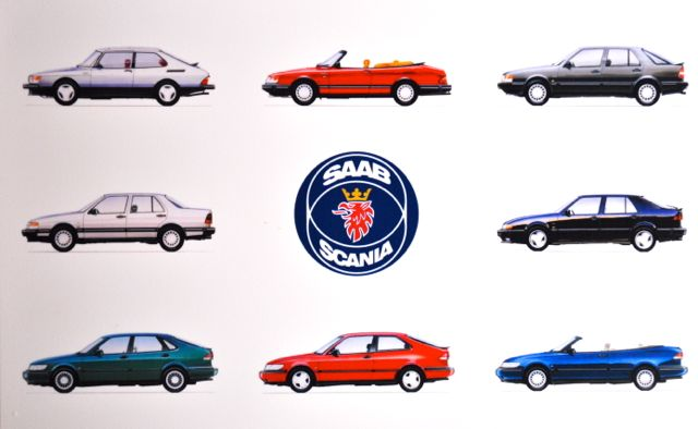 Saab Youngtimer Mousepad
