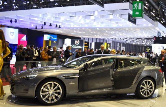 Shooting Brake on Aston Martin Rapide base